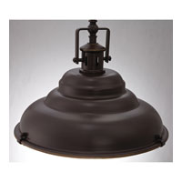 Quoizel Lighting Eastvale 1 Light Pendant in Palladian Bronze EVE2815PN alternative photo thumbnail