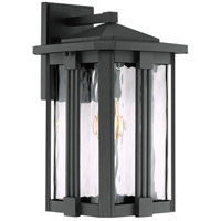 Quoizel EVG8409EK Everglade 1 Light 15 inch Earth Black Outdoor Wall Lantern