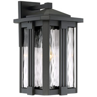 Everglade 1 Light 18 inch Earth Black Outdoor Wall Lantern
