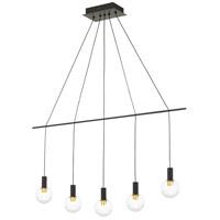 Quoizel EXN539WT Expanse LED 40 inch Western Bronze Island Chandelier Ceiling Light