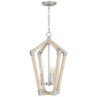 Quoizel FB5203AN Fable 3 Light 16 inch Antique Nickel Foyer Chandelier Ceiling Light