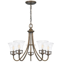 Quoizel FCH5025SU Fairchild 5 Light 25 inch Statuary Bronze Chandelier Ceiling Light