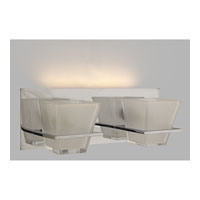 Quoizel Lighting Forme Angles 2 Light Bath Light in Polished Chrome FMAG8612C photo thumbnail