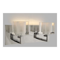Quoizel Lighting Forme Cubes 2 Light Bath in Polished Chrome FMCB8612C alternative photo thumbnail