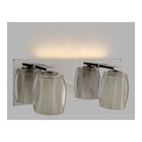 Quoizel Lighting Forme Optics 2 Light Bath Light in Polished Chrome FMOP8612C photo thumbnail