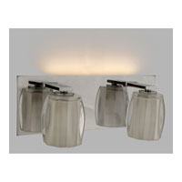Quoizel Lighting Forme Optics 2 Light Bath Light in Polished Chrome FMOP8612C alternative photo thumbnail