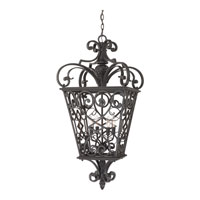 Quoizel FQ1920MK01 Fort Quinn 4 Light 19 inch Marcado Black Outdoor Hanging Lantern alternative photo thumbnail