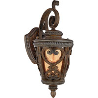 Quoizel Lighting Fort Quinn 1 Light Outdoor Wall Lantern in Antique Brown FQ8308AW01 photo thumbnail