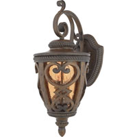 Quoizel Lighting Fort Quinn 2 Light Outdoor Wall Lantern in Antique Brown FQ8310AW01 photo thumbnail