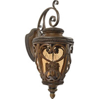 Quoizel Lighting Fort Quinn 4 Light Outdoor Wall Lantern in Antique Brown FQ8314AW01 photo thumbnail