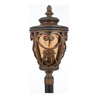 Quoizel Lighting Fort Quinn 4 Light Outdoor Post Lantern in Antique Brown FQ9013AW01 alternative photo thumbnail