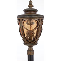 Quoizel Lighting Fort Quinn 4 Light Outdoor Post Lantern in Antique Brown FQ9013AW01 photo thumbnail