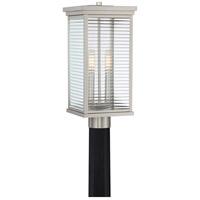 Quoizel GAR9008SS Gardner 2 Light 18 inch Stainless Steel Outdoor Post Light