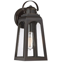 Quoizel GDM8406PN Guardsman 1 Light 13 inch Palladian Bronze Outdoor Wall Lantern, Small