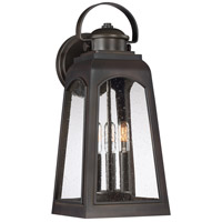 Quoizel GDM8408PN Guardsman 3 Light 19 inch Palladian Bronze Outdoor Wall Lantern, Large