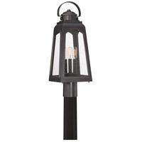 Quoizel GDM9008PN Guardsman 3 Light 22 inch Palladian Bronze Outdoor Post Lantern, Large