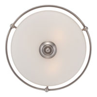 Quoizel GF1617AN Griffin 3 Light 17 inch Antique Nickel Flush Mount Ceiling Light alternative photo thumbnail