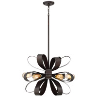 Gala 6 Light 24 inch Vino Bronze Pendant Ceiling Light