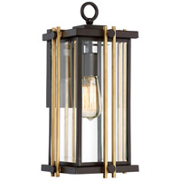 Quoizel GLD8408WT Goldenrod 1 Light 16 inch Western Bronze Outdoor Wall Lantern