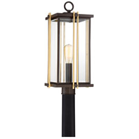 Goldenrod 1 Light 22 inch Western Bronze Outdoor Post Lantern