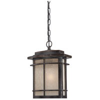 Quoizel Lighting Galen 1 Light Outdoor Hanging Lantern in Imperial Bronze GLN1910IB