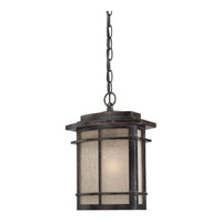 Quoizel Galen 1 Light Outdoor Hanging Lantern in Imperial Bronze GLN1910IBFL