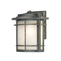 Quoizel Lighting Galen 1 Light Outdoor Wall Lantern in Imperial Bronze GLN8409IB