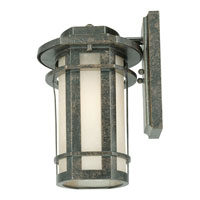 Quoizel Lighting Galen 1 Light Outdoor Wall Lantern in Imperial Bronze GLN8409IB alternative photo thumbnail