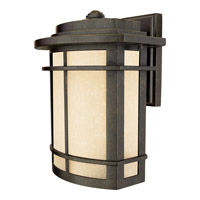 Quoizel Galen 1 Light Outdoor Wall Lantern in Imperial Bronze GLN8410IBFL