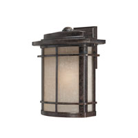 Quoizel Lighting Galen 1 Light Outdoor Wall Lantern in Imperial Bronze GLN8412IB