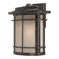 Quoizel Galen 1 Light Outdoor Wall Lantern in Imperial Bronze GLN8412IBFL