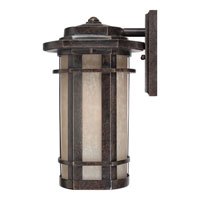 Quoizel Lighting Galen 1 Light Outdoor Wall Lantern in Imperial Bronze GLN8412IB alternative photo thumbnail