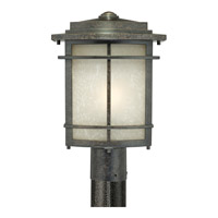 Quoizel Galen 1 Light Outdoor Post Lantern in Imperial Bronze GLN9010IBFL