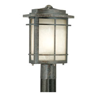 Quoizel GLN9010IB Galen 1 Light 15 inch Imperial Bronze Outdoor Post Lantern alternative photo thumbnail