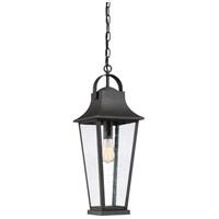 Quoizel GLV1908MB Galveston 1 Light 9 inch Mottled Black Outdoor Hanging Lantern