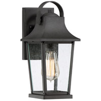 Quoizel GLV8406MB Galveston 1 Light 13 inch Mottled Black Outdoor Wall Lantern