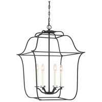 Gallery 6 Light 22 inch Royal Ebony Foyer Pendant Ceiling Light
