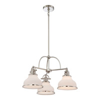 Quoizel Grant 3 Light Chandelier in Imperial Silver GRT5103IS