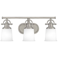 Quoizel GRT8603AN Grant 3 Light 23 inch Antique Nickel Bath Light Wall Light