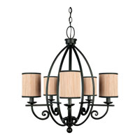 Quoizel Lighting Grayson 5 Light Chandelier in Serengeti GRY5005SN photo thumbnail