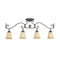 Quoizel Lighting Gisella 4 Light Ceiling Track Lights in Imperial Bronze GS1404IB photo thumbnail