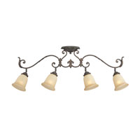 Quoizel Lighting Gisella 4 Light Ceiling Track Lights in Imperial Bronze GS1404IB alternative photo thumbnail