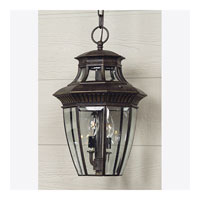 Quoizel Lighting Georgetown 3 Light Outdoor Hanging Lantern in Imperial Bronze GT1700IB