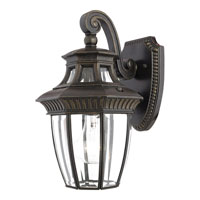 Quoizel GT8980IB Georgetown 1 Light 13 inch Imperial Bronze Outdoor Wall Lantern alternative photo thumbnail