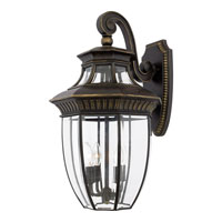Quoizel Lighting Georgetown 4 Light Outdoor Wall Lantern in Imperial Bronze GT8982IB