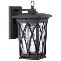 Quoizel GVR8406K Grover 1 Light 11 inch Mystic Black Outdoor Wall Lantern alternative photo thumbnail