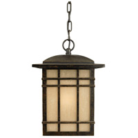 Hillcrest 1 Light 9 inch Imperial Bronze Outdoor Hanging Lantern in Standard