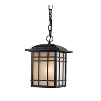 Quoizel HC1909IBFL Hillcrest 1 Light 9 inch Imperial Bronze Outdoor Hanging Lantern in Fluorescent alternative photo thumbnail