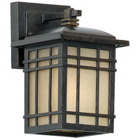 Hillcrest 1 Light 9 inch Imperial Bronze Outdoor Wall Lantern in Standard