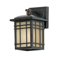 Quoizel Lighting Hillcrest 1 Light Outdoor Wall Lantern in Imperial Bronze HC8406IBFL